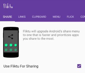 Android Teilen-Menü ändern