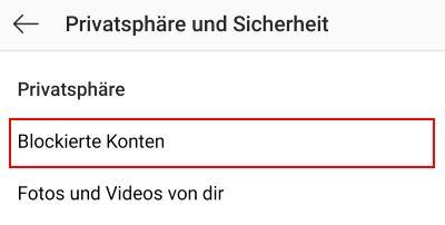 Instagram entblocken geht nicht - TouchTipps.de