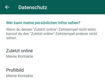 Whatsapp Schreibt Verbergen Touchtippsde