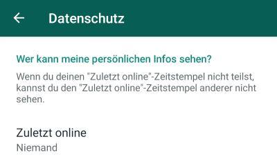 Aber online nachricht nicht gewesen whatsapp gelesen WhatsApp:Gelesen und