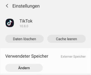Tik Tok Videos auf SD-Karte verschieben