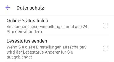 Viber Online Status Verbergen So Gehts Touchtippsde