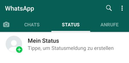 Whatsapp Status Mehrmals Anschauen Sichtbar Touchtippsde