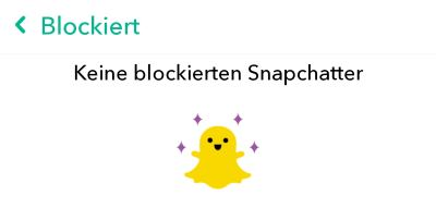 Snapchat-Blockierung erkennen und umgehen? - TouchTipps.de